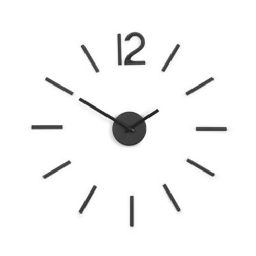 Umbra Blink Wall Clock in Black