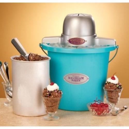 Nostalgia Electrics The Old Fashioned Ice Cream Maker