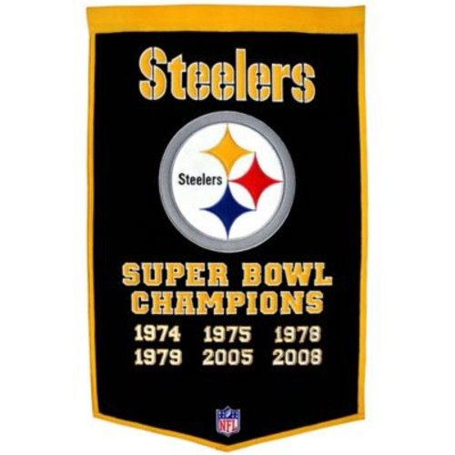 NFL Pittsburgh Steelers Super Bowl XLV Dynasty Banner