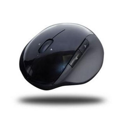 Adesso iMouse E50 USB Wireless Laser Vertical Ergonomic Mouse, Black