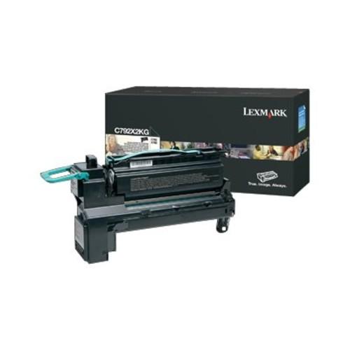 Lexmark C792X2KG Toner Cartridge - Black - Lexmark - C792X2KG