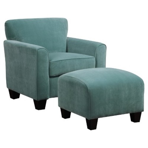 Upholstered Chair - Turquoise - Handy Living