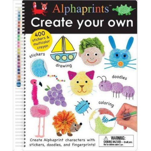 Create Your Own Alphaprints (Paperback) (Roger Priddy)