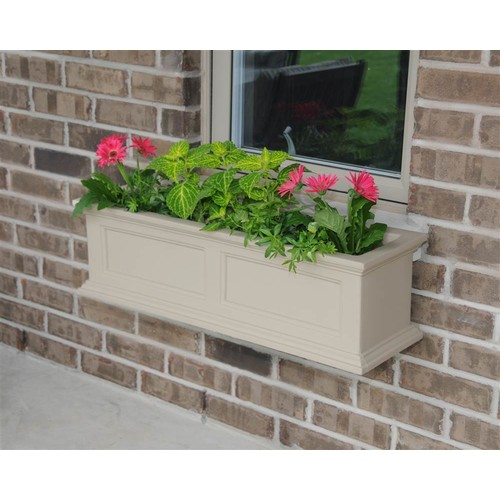 Mayne Fairfield 5822C Window Box Planter, 3-Foot, Clay [Clay]