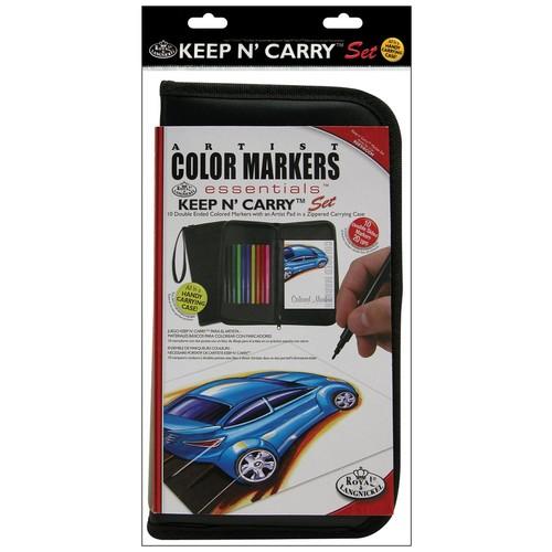 Royal Brush Keep N' Carry Artist Set, Color Markers