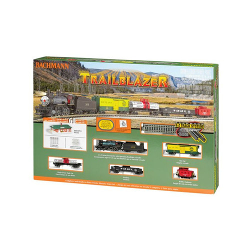 Bachmann Trains Trailblazer - N Scale Ready To Run Electric Train Set