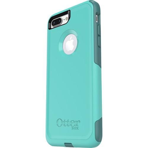 OtterBox - Commuter Series Case for Apple iPhone 7 Plus - Aqua/ Green