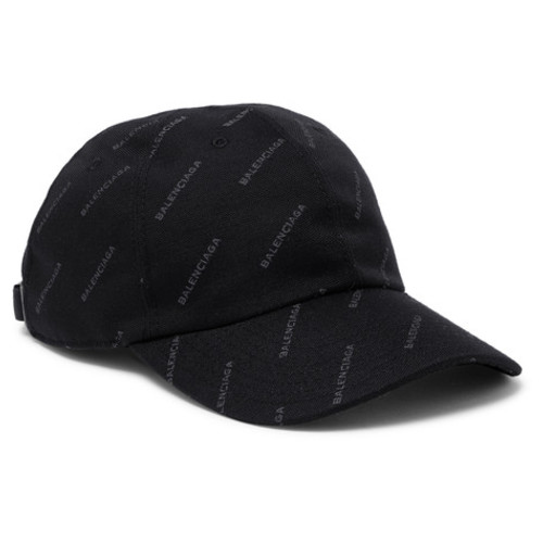 Balenciaga - Printed Twill Baseball Cap