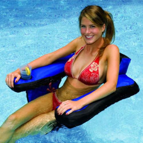 Swimline Fabric Covered Inflatable Pool U-Seat