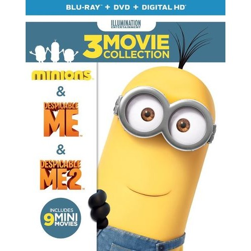 Despicable Me: 3-Movie Collection [Blu-ray/DVD] [2 Discs]