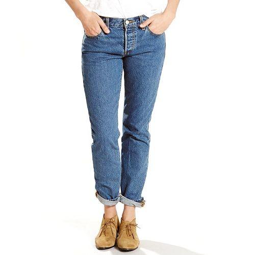 Women's Levi's 501 CT Boyfriend Jeans