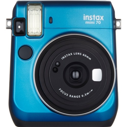 Fujifilm - Instax Mini 70 Instant Film Camera - Blue