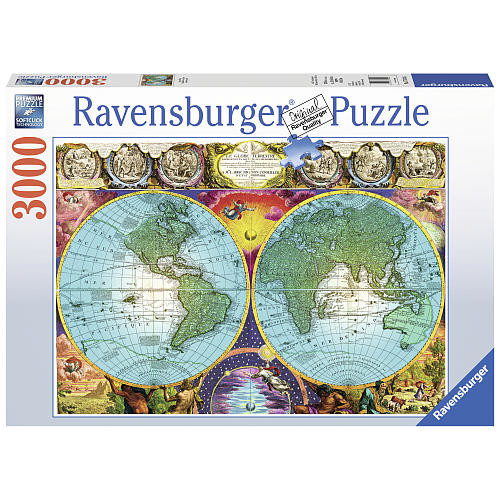 Ravensburger Antique Map Jigsaw Puzzle - 3000-Piece