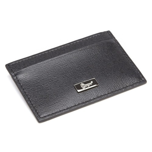 Royce RFID Blocking Saffiano Leather Slim Credit Card Wallet