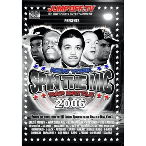 Spin the Mic: New York Rap Battle 2006 Disc 2 [DVD]