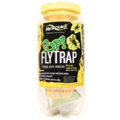 RESCUE! Non-Toxic Reusable POP Fly Trap [Trap]