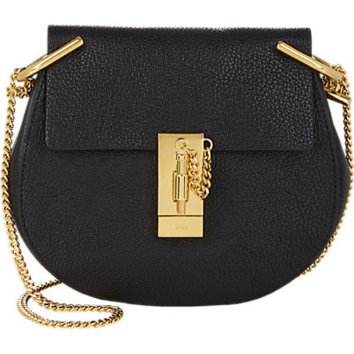 Chlo Drew Mini Leather Crossbody Bag