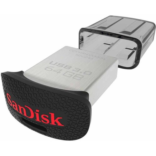 SanDisk 128GB Ultra Fit USB 3.0 Flash Drive - SDCZ43-128G-A46