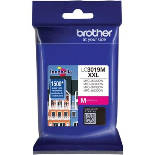 Brother Magenta Super High Yield XXL Ink-Jet Cartridge, 1500 Page Yield