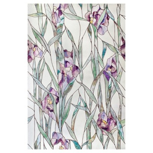 Artscape 24 in. x 36 in. Iris Decorative Window Film