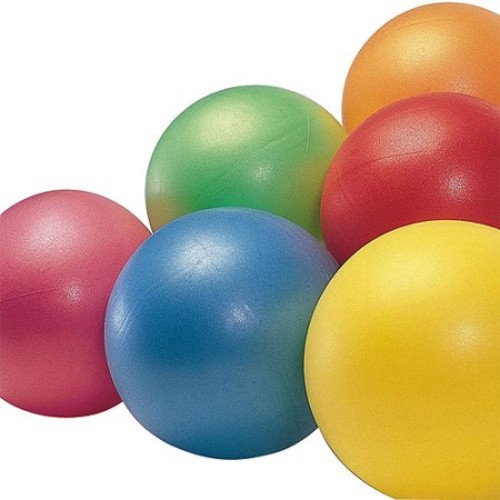 Sportime Durable Gertie Balls - 7 to 9 Inches - Set of 6 - Assorted Colors
