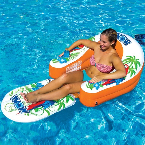 WOW Malibu Lounge Inflatable Towable Tube