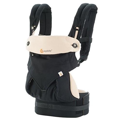 Ergobaby 360 4 Position Baby Carrier - Black & Camel