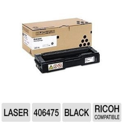 Ricoh Type SP C310HA - High Yield - black - original - toner cartridge - for Gestetner SP C232; Rex Rotary SP C231, SP C232, SP C242, SP C311, SP C320; Aficio SP (406475)