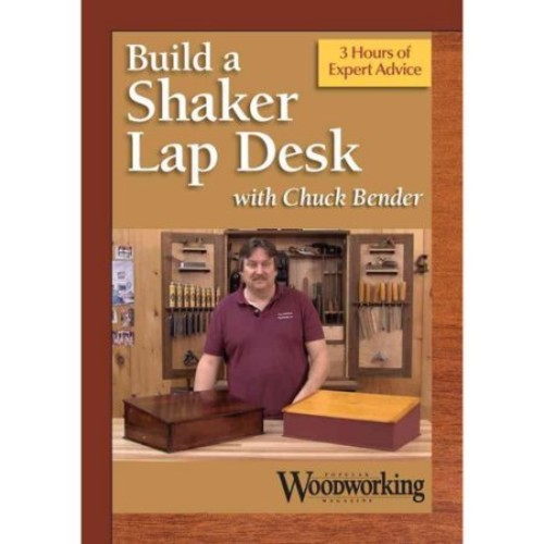 Making a Shaker Lap Desk