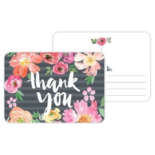 Post Cards - Thank You Floral