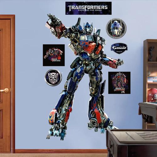 Hasbro Transformers 3 Optimus Prime Wall Decal