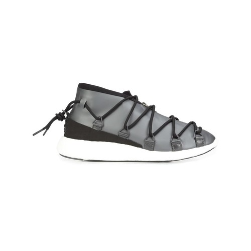 Y-3 Lace-Up Wedge Sneakers