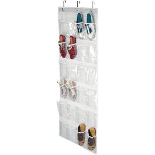 Honey-can-do Sft-01575 24-pocket Over-the-door Closet Organizer