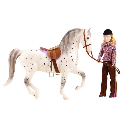 Breyer Let's Go Riding Traditional English Horse Riding Play Set - G019756014094