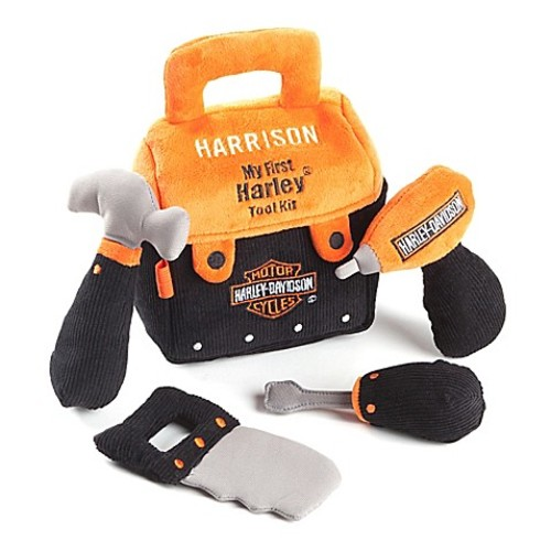My First Harley Tool Kit Plush Set