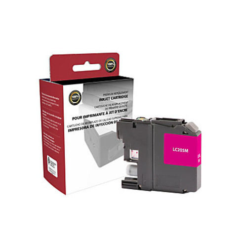 Clover Imaging Group 118108 (Brother LC205M) Remanufactured Super High-Yield Magenta Ink Cartridge