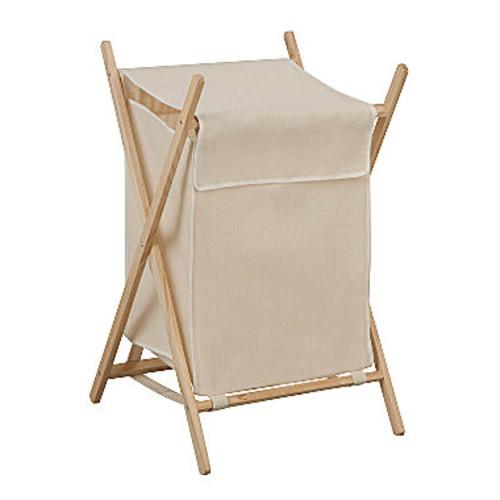 Honey-Can-Do Folding wooden Laundry Hamper