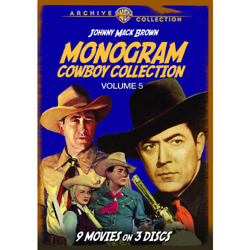 The Monogram Cowboy Collection Volume 5: Starring Johnny Mack Brown (DVD)