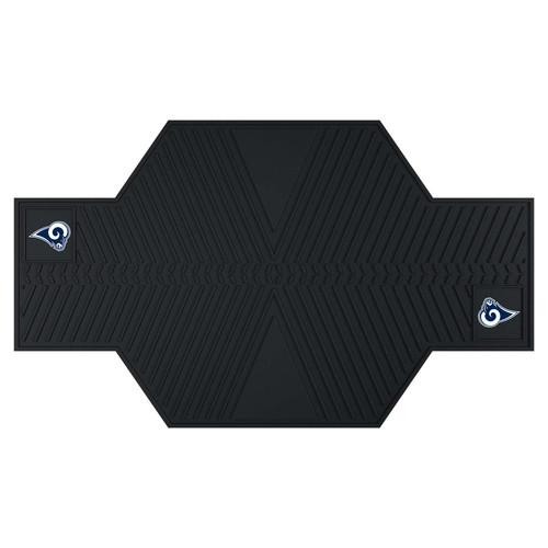 FANMATS NFL - Los Angeles Rams Motorcycle Utility Mat