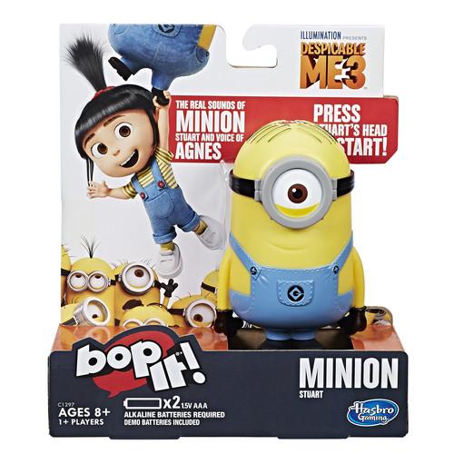 Hasbro Bop It! Game: Minion Stuart Edition