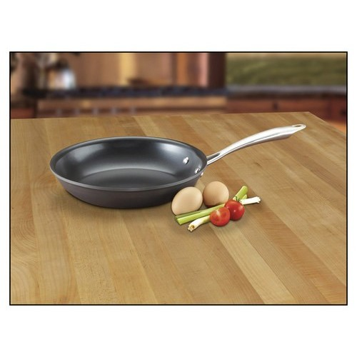 Cuisinart GG22-24 GreenGourmet Hard-Anodized Nonstick 10-Inch Open Skillet [10-Inch, Skillet]