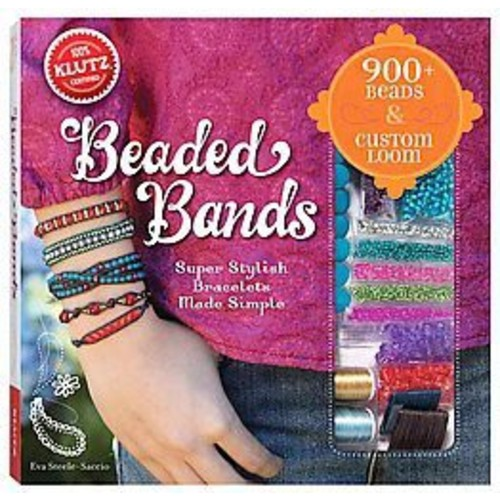 Beaded Bands : Super Stylish Bracelets Made Simple (Paperback) (Eva Steele-saccio)