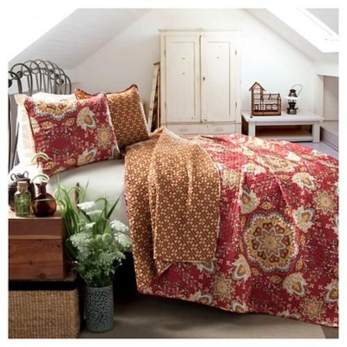 Lush Decor Addington 3-pc. Reversible Quilt Set