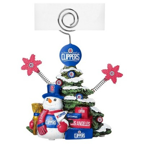 Los Angeles Clippers Topperscot Holiday Sculpture