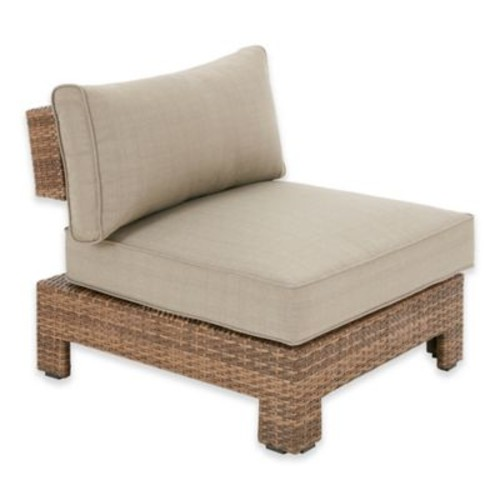 INK+ IVY Bali Outdoor Chaise Lounge in Mocha/Light Grey