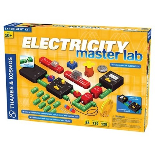 Thames & Kosmos Electricity: Master Lab Science Experiment Kit