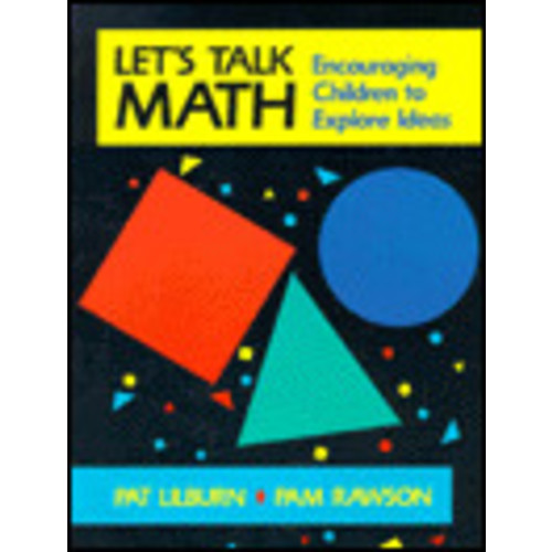 Let's Talk Math: Encouraging Children to Explore Ideas / Edition 1