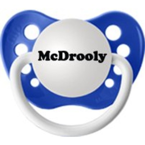 McDrooly (Blue) Pacifier