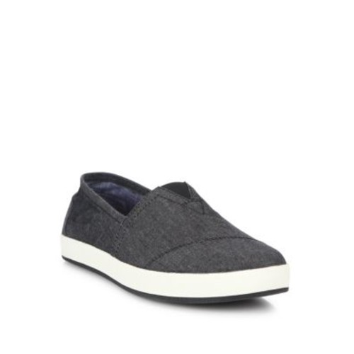 Avalon Chambray Slip-On Sneakers