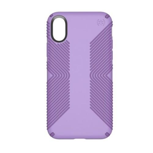 Speck iPhone X Case Presidio Grip - Purple